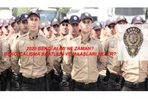 2020 Bekçi Alımı Ne Zaman Olacak?