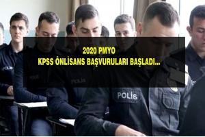 2020 PMYO KPSS BAŞVURULARI BAŞLADI