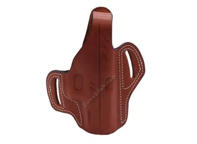 Deri Tam Kelebek Glock 19 Kahve Silah Kılıfı