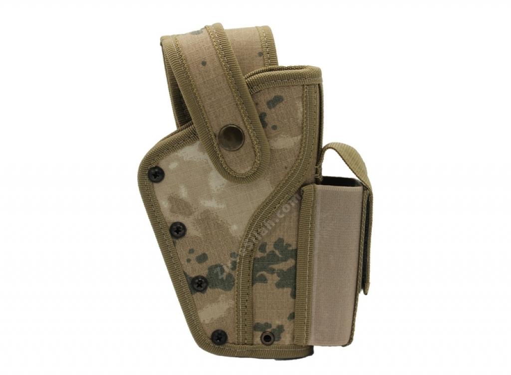 Jandarma Yedek Şarjörlü Vidalı Sallama Silah Kılıfı