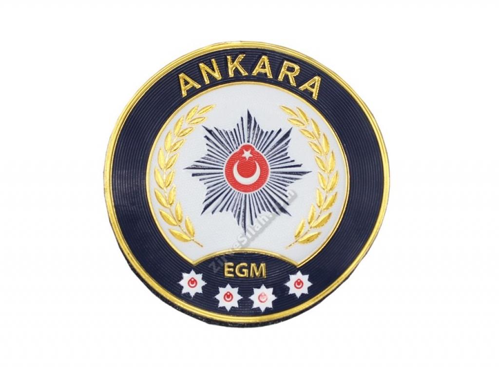 Ankara İli Polis Kol Arması