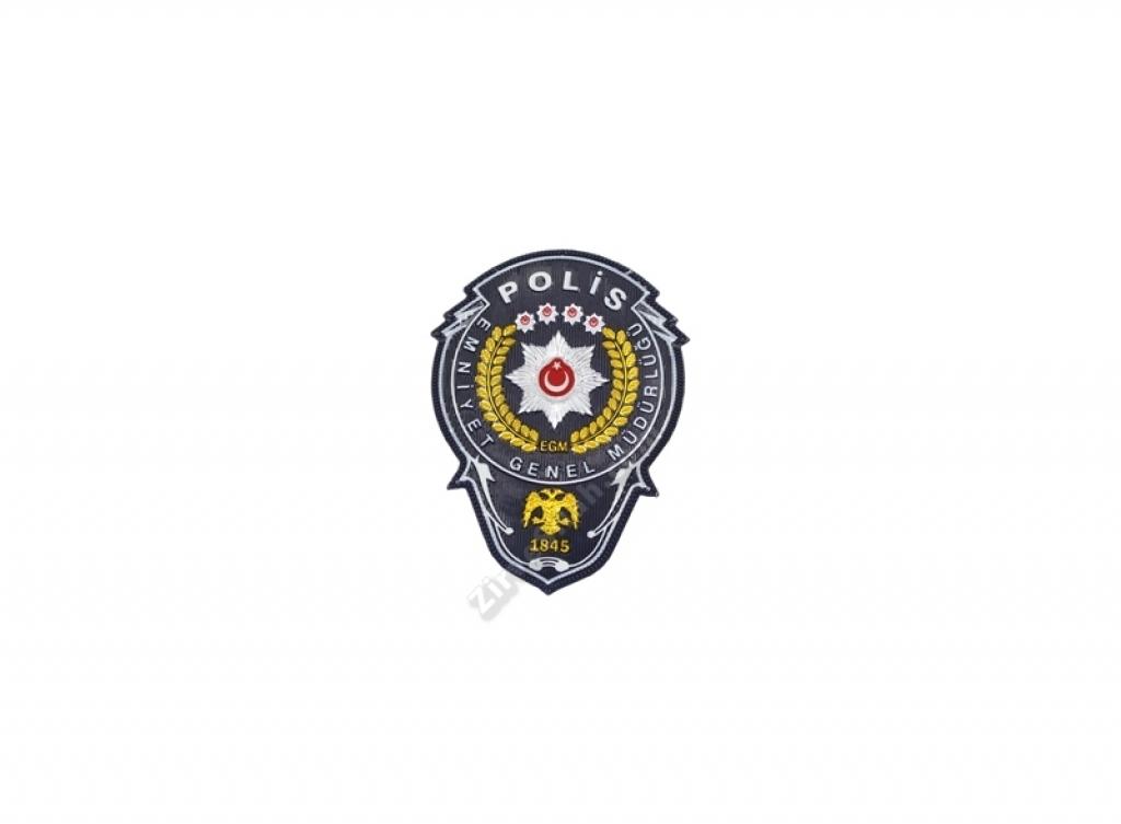 EGM Polis Cüzdan Rozeti