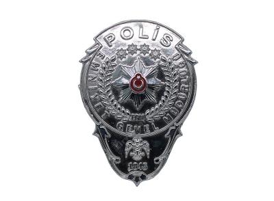 Polis Parlak Yapıştırmalı Cüzdan R