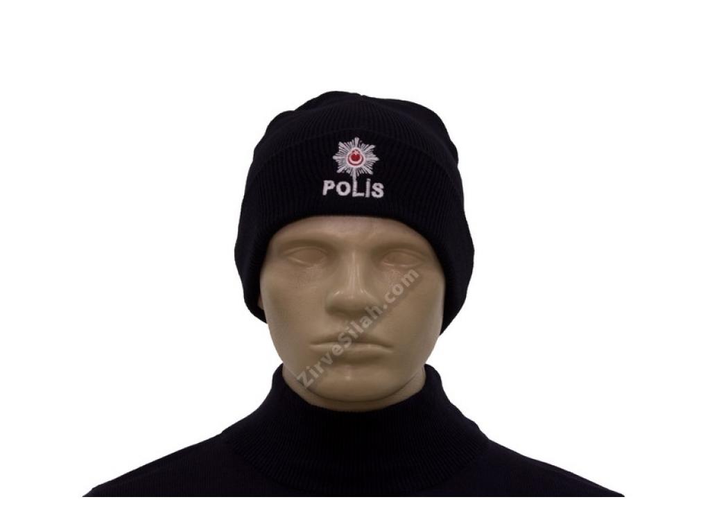 Polis Yazılı Bere