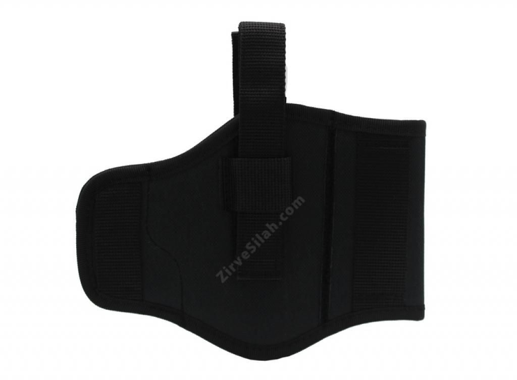 Siyah Şarjörlü Kelebek Sağ Sol Silah Kılıfı
